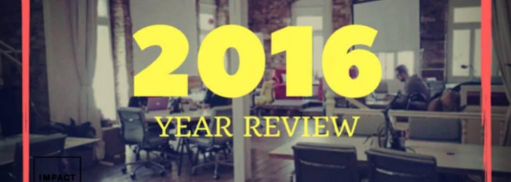 2016 | 365 DAYS OF IMPACT