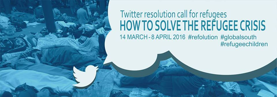 SOCIAL MEDIA RESOLUTION CALL ON REFUGEE CRISIS|ΠΑΡΕ ΜΕΡΟΣ ΣΤΟ ΔΙΑΛΟΓΟ!