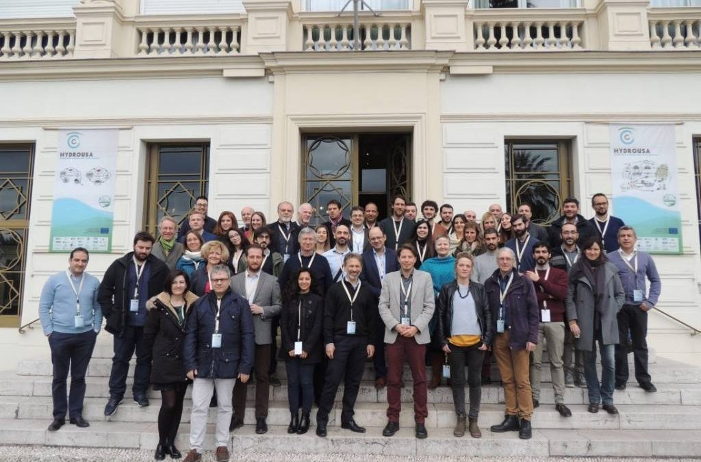 HYDROUSA:  An innovative European project for regenerative & circular solutions concludes its meeting successfully in Nice